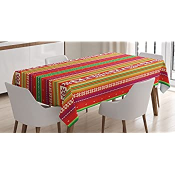 Amazon.com: Native American Decor Tablecloth By Ambesonne, South ...