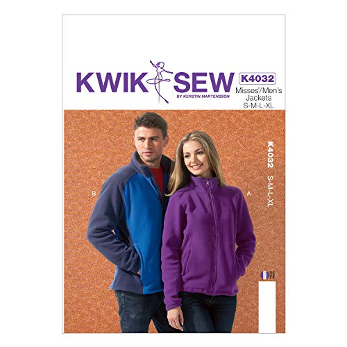 KWIK-SEW PATTERNS K4032 Misses'/Men's Jackets Sewing Template