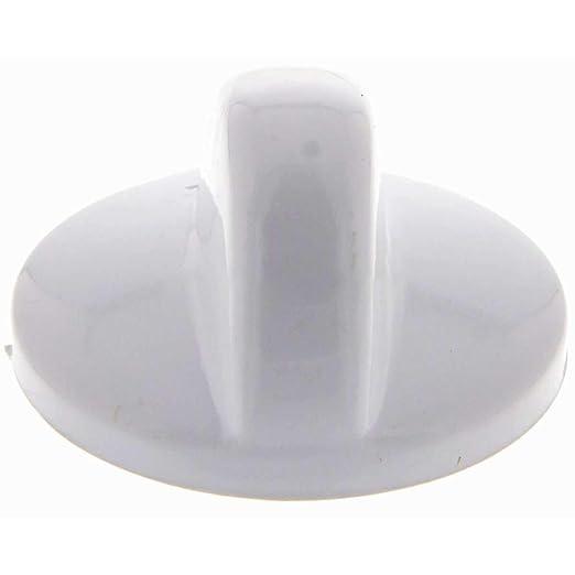 Mando encimera Teka Blanco Eje 5, 5 mm: Amazon.es