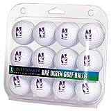 LinksWalker NCAA Northwestern Wildcats - Dozen Golf Balls