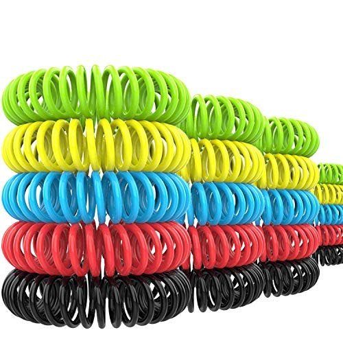 Sopance 20-Pack Mosquito Repellent Bracelet - 100% All Natural Plant Based Oil, Non-Toxic Travel Insect Repellent, Safe Deet-Free Band - Kids, Adults and Teens - Keeps Bugs Away