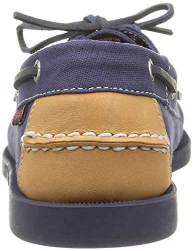 clearance low price fee shipping Sebago Men's Spinnaker NBK-FGL Boat Shoes Blu (Navy/Tan) eastbay sale online really cheap shoes online new cheap price YkT1W