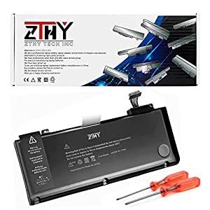 "[UL Listed] ZTHY 72WH New A1322 Replacement Battery For A1278 Apple MacBook Pro 13"" Laptop (Early 2011 Late 2011 Mid 2012 2010 2009) MB990LL/A MB991LL/A MC374LL/A MC374LL/A MC375LL/A MC700LL/A 10.95V by ZTHY"