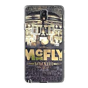 Samsung Galaxy Note3 SjR19424tjQN Custom Fashion Mcfly Band Skin Shock-Absorbing Hard Cell-phone Case -MansourMurray
