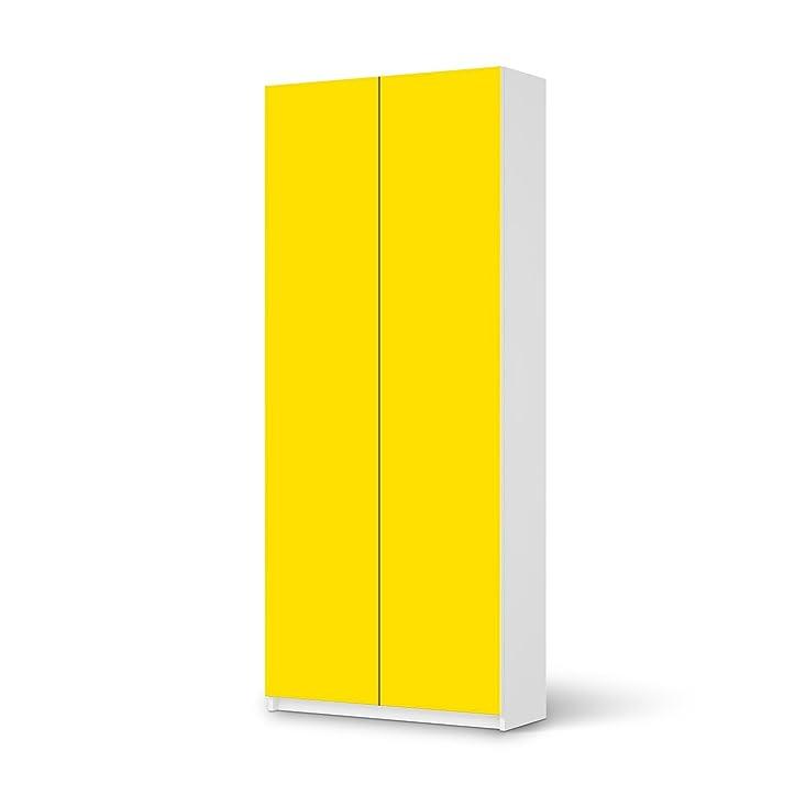 Designfolie IKEA Pax Schrank 236 cm Höhe - 2 Türen selbstklebend ...