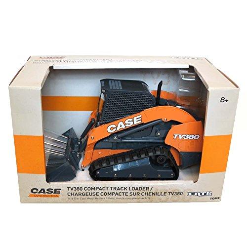 ERTL 1/16 CASE TV380 Compact Track Skid Steer Loader