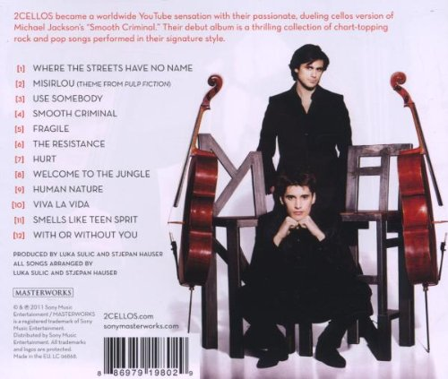 2cellos album