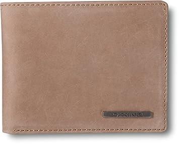 Dakine Agent Leather Wallet Men's Wallet, Brown, 8 x 7 x 2 cm 8820100