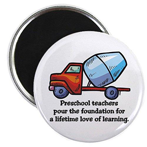 CafePress - Preschool Teacher Gift Ideas Magnet - 2.25