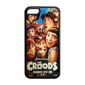 The Croods Super Fit iPhone 5c Cases Solid Rubber Customized Cover Case for iPhone 5c 5c-linda1188 hjbrhga1544