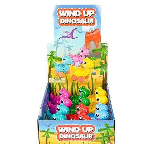 DollarItemDirect 3.25 inches Wind-Up Dinosaur Toy, Case of 72