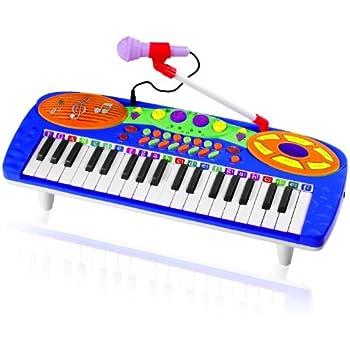 Amazon Com Kids Authority 37 Keys Standard Kids Keyboard