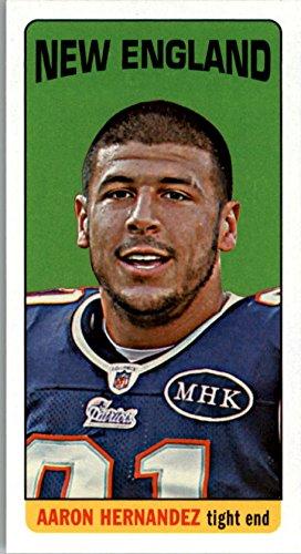 2012 Topps 1965 Mini #97 Aaron Hernandez - Football Card