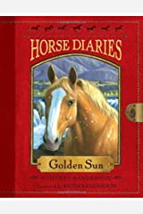 Horse Diaries #5: Golden Sun by Whitney Sanderson(2010-08-10) Paperback