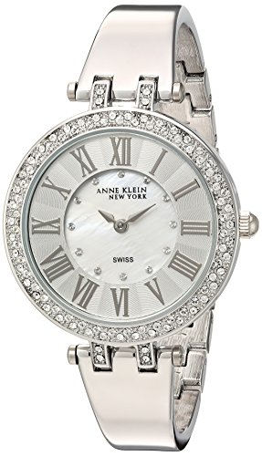 Anne Klein Swiss Watches (Anne Klein New York Women's Swiss Quartz Metal and Alloy Dress Watch, Color:Silver-Toned (Model:)