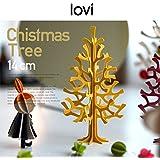 【lovi/ロヴィ】momi-no-ki ミニクリスマスツリー 14cm (ライトグリーン)