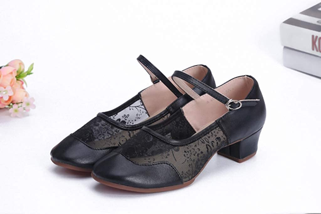 YAGEYAN Dance Shoes Square Dance Sports Shoes Ballet Shoes High-Heeled Shoes