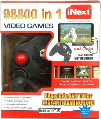 Rare Flair iNext 98800 in 1 Video Games , Plugs Into Any Tv for Instant Gaming |Requires No Expensive Game Console||