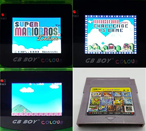 - 108 in 1 Game Boy COLOR GBC Multi Cart Tons of Classic Retro Games and many more