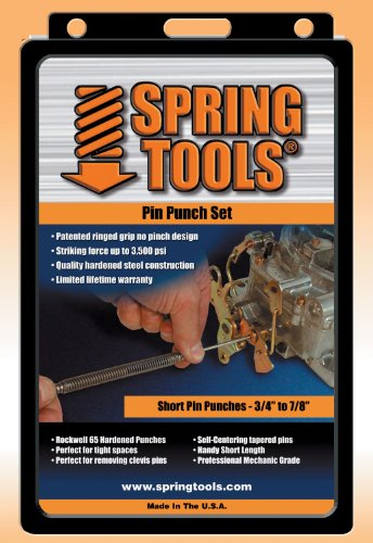 Spring Tools PPM503 4 Pc Spring Tools® Pin Punch Assortment by Spring Tools