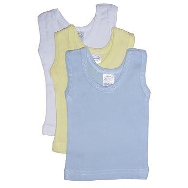 3d5eb441fe5183 Amazon.com  Bambini Baby Boys Girls Unisex 3-Pack Sleeveless T ...