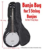 Performance Plus GBJ465 Heavy Duty 600 Denier Nylon Banjo Bag