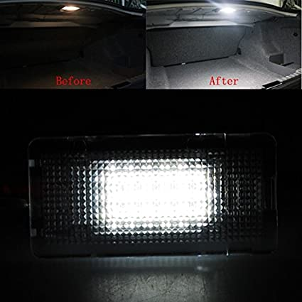 1 Pcs Led Luggage Compartment Trunk Boot Light Lamp For BMW E39 E60 E65 F01