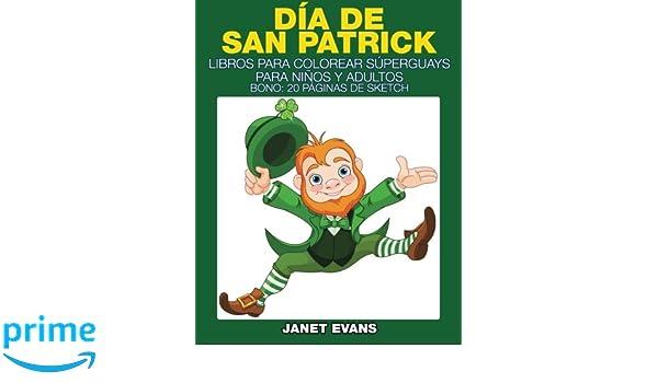 Día de San Patrick: Libros Para Colorear Súperguays Para Niños y ...