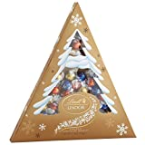 Lindt LINDOR Holiday Tree Assorted Chocolate Truffles, Kosher, 17.8 Ounce Box