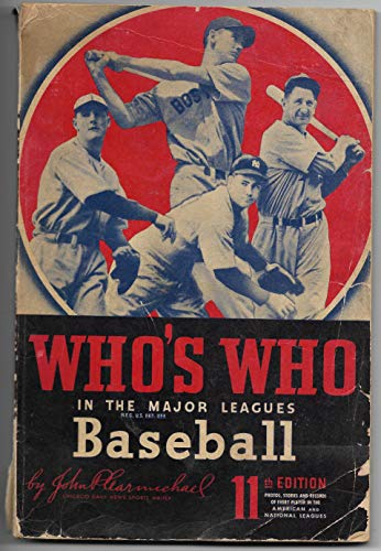 1943 11th Edition Of Who's Who In Baseball Ted Williams On The ()