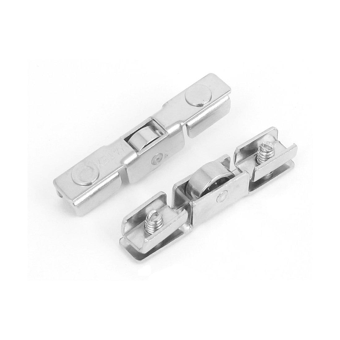 eDealMax 43 mm Longitud ajustable de metal para puertas corredizas con solo rodillo 30pcs ruedas - - Amazon.com