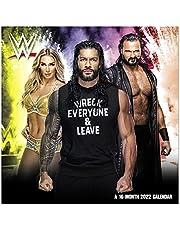 "2022 WWE Mini Wall Calendar, 7"" x 7"", Monthly (DDMN3828)"