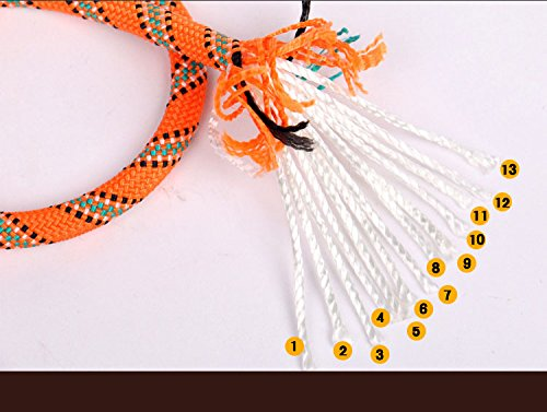 Outdoor Climbing Rope 10M(32ft) 20M(64ft) 30M (98ft) Rock Climbing Rope, Escape Rope Climbing Equipment Fire Rescue Parachute Rope