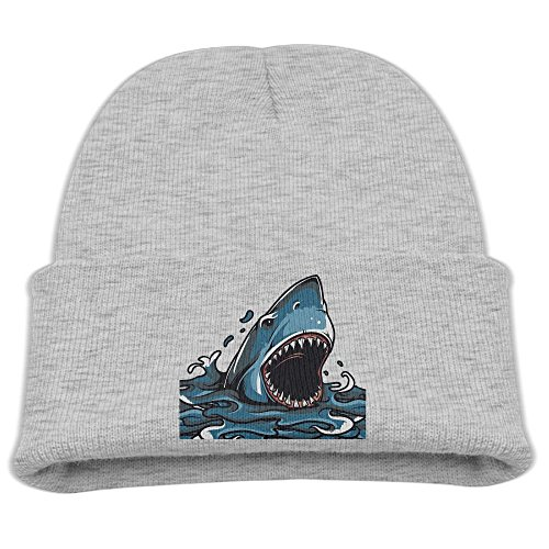 SA Kids Hats Hedging Shark Winter Warm Classic Knitted Cap Soft Beanies For Toddlers Boys (Cancer Mop)