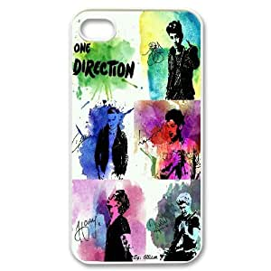 One Direction Watercolor IPhone 4/4s Cases, Bloomingbluerose {White}