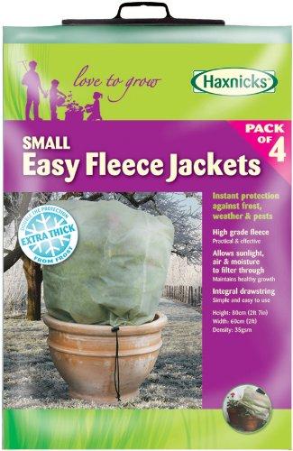 Tierra Garden 50-8020 Haxnicks Easy Fleece Jacket, 4-Pack, -