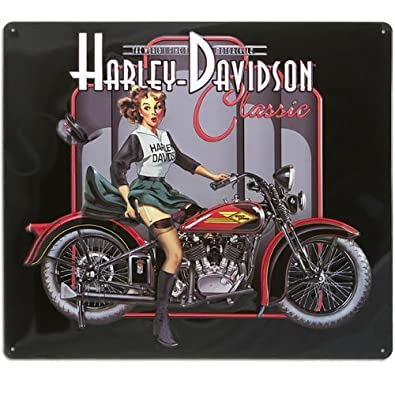 2010601 ande rooney harley davidson classic pin up babe metal sign 2010601 ande rooney harley davidson classic pin up babe metal sign by harley davidson freerunsca Images