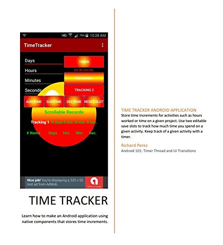 Time Tracker: Android applications coding guide PDF (English Edition)
