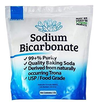 Amazon.com: USP, bicarbonato de sodio en polvo puro de ...