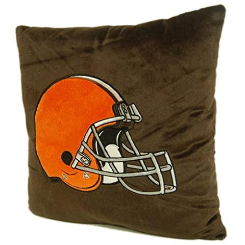 NFL Cleveland Browns 16-Inch Polyester Felt Plush Pillow - Cleveland Browns Bedding