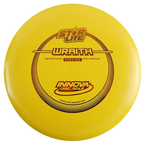 (INNOVA Starlite Wraith Distance Driver Golf Disc [Colors May Vary] - 130-139g)