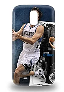 Galaxy Cover Case NBA Minnesota Timberwolves Ricky Rubio #9 Protective Case Compatibel With Galaxy S4 ( Custom Picture iPhone 6, iPhone 6 PLUS, iPhone 5, iPhone 5S, iPhone 5C, iPhone 4, iPhone 4S,Galaxy S6,Galaxy S5,Galaxy S4,Galaxy S3,Note 3,iPad Mini-Mini 2,iPad Air )
