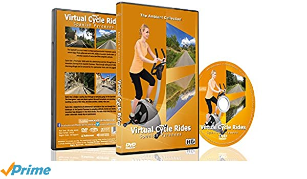 Virtual Cycle Rides - Spanish Pyrenees for Indoor Cycling ...