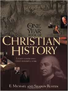 The One Year Christian History One Year Books E border=