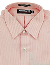 Kirkland Signature. Men's Long Sleeve Slim Fit Dress Shirt