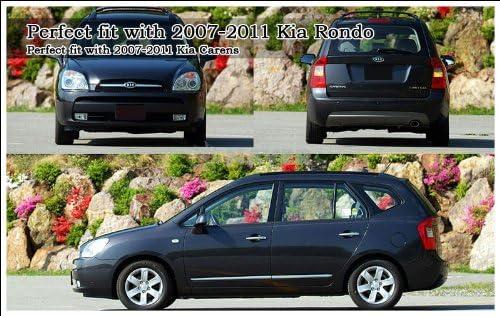 5.9 Kia Motors Genuine Front Hood Grill /& Rear Trunk KIA Logo Emblem 1-pc 15cm
