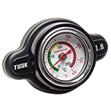 Tusk High Pressure Radiator Cap with Temperature Gauge 1.8 Bar - Fits: Yamaha GRIZZLY 700 4x4 2007-2016