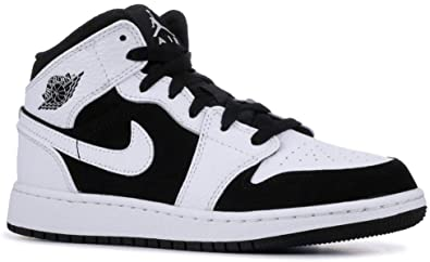 Nike Air Jordan 1 Mid (GS), Zapatos de Baloncesto para Bebés ...