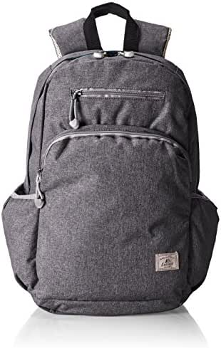 Everest Stylish Laptop Backpack, Charcoal, One Size