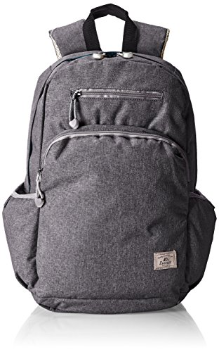 Everest Stylish Laptop Backpack, Charcoal, One